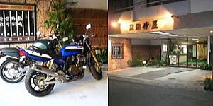 バイク(二輪車)歓迎のイメージ