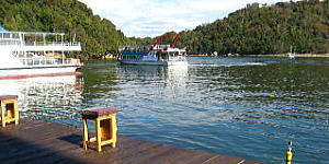 専用釣り桟橋のイメージ
